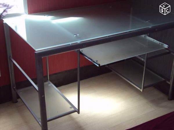 bureaux en verre occasion dans le pas de calais 62 annonces achat et vente de bureaux en. Black Bedroom Furniture Sets. Home Design Ideas