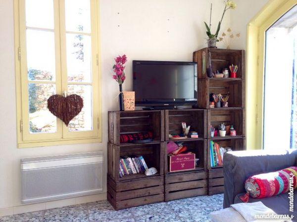 Achetez meuble tv en caisses occasion annonce vente - Caisse de pomme a vendre ...