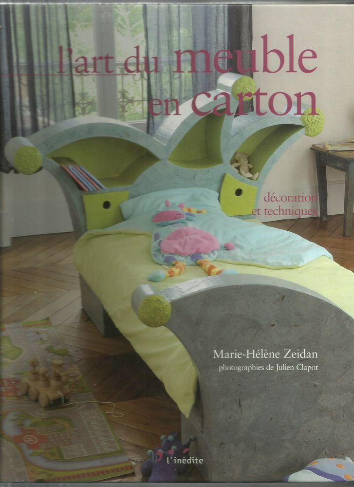 L'ART DU MEUBLE EN CARTON - Marie-Hélène ZEIDAN 18 Semoy (45)