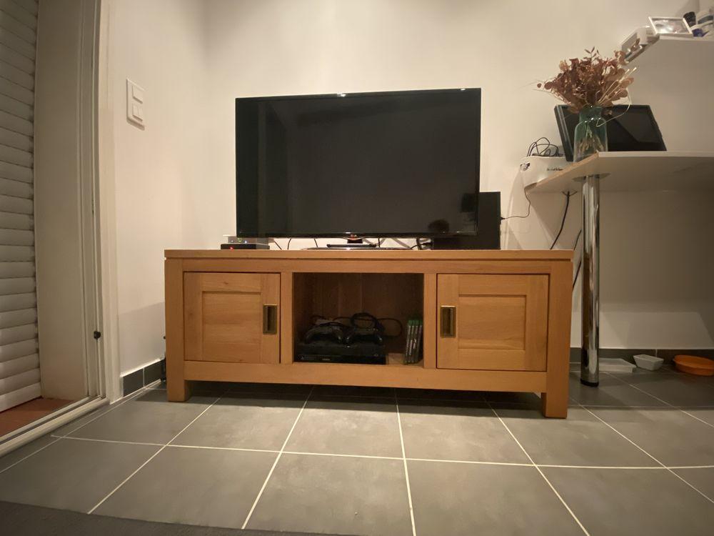 meuble TV 100% chêne fait sur mesure. 270 Vaufrege (13)