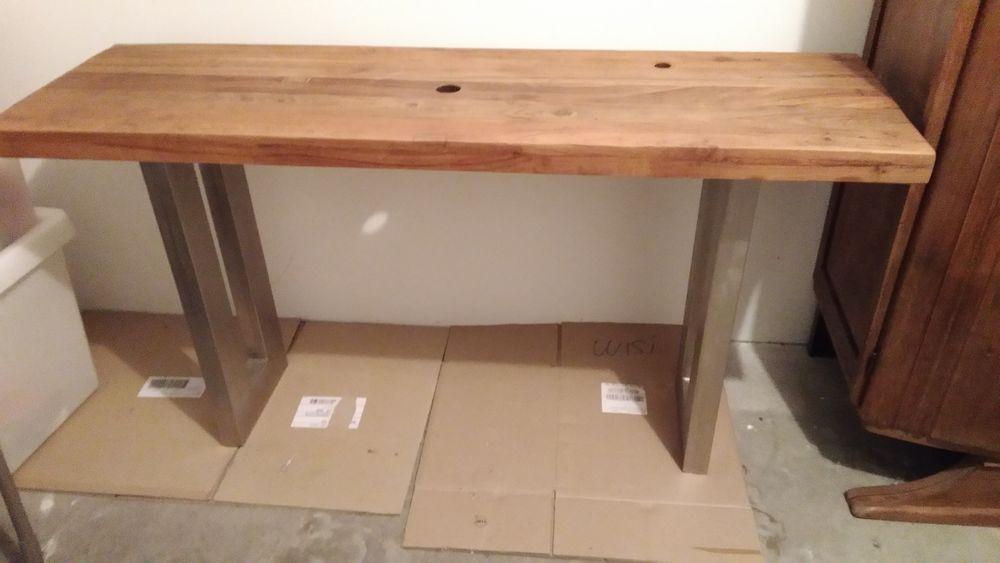 Achetez meuble console de neuf revente cadeau annonce - Cherche meuble de salle de bain ...