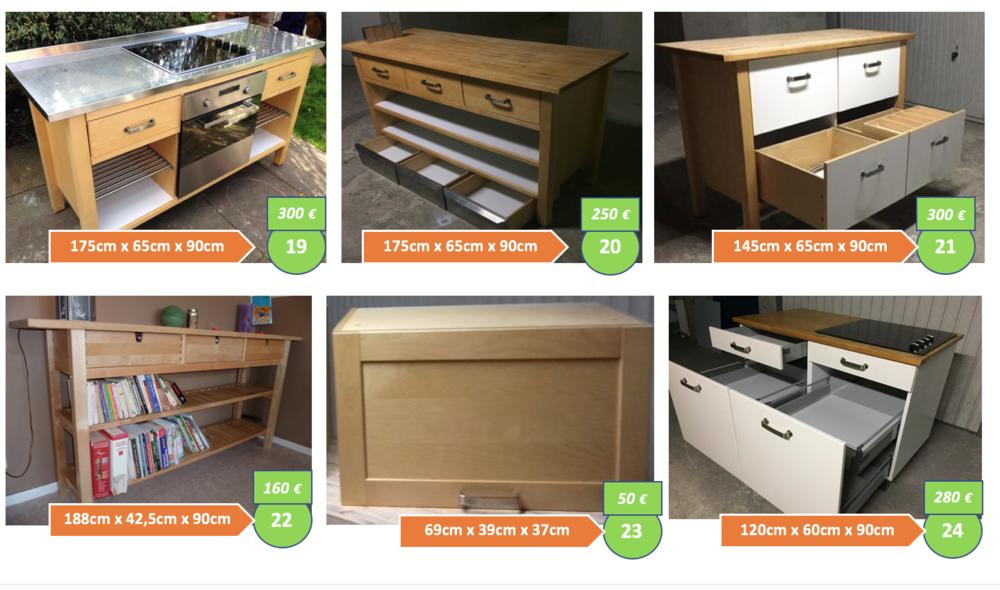 Achetez Meuble Cuisine Ikea Occasion Annonce Vente A Angers 49 Wb162402018