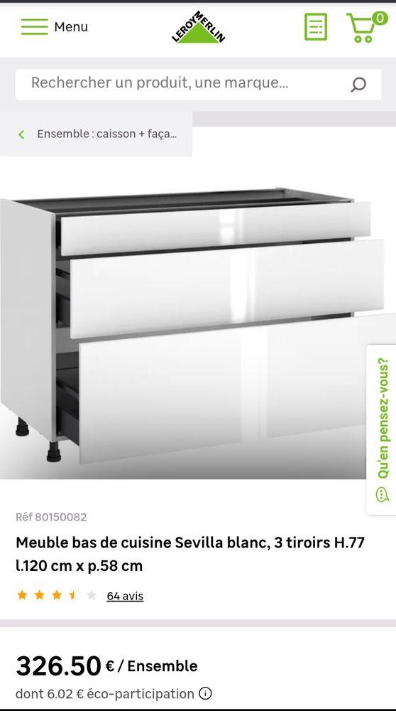 Meuble de cuisine NEUF 0 Nogent-sur-Marne (94)