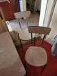 Meuble cuisine + table + chaises Formica 60's Meubles