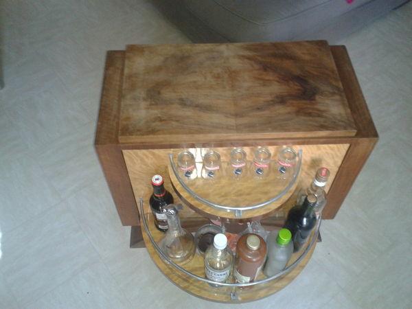 Meuble bar art d co meubles - Meuble art deco occasion ...