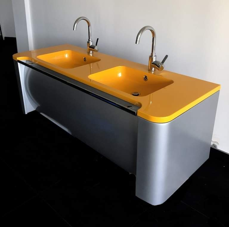 Meuble DECOTEC double vasque Salle de Bain + miroir 490 Châteauneuf-Villevieille (06)