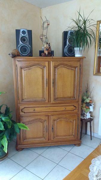 meuble tv droit bois massif 0 Savenès (82)