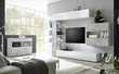 Meuble TV étagère et cube 2 portes CYRANO