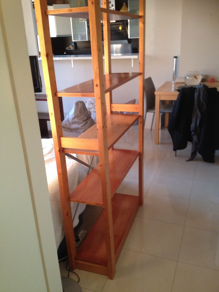 meuble étagère en pin vernis 0 Paris 20 (75)