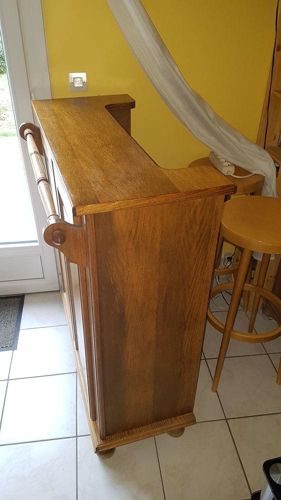 Meuble bar et fond de bar en chêne  100 Montlhéry (91)