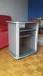 Meuble TV gris à portes pratique sur roulettes Hendaye (64)