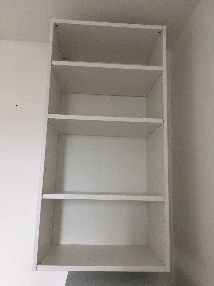 Meuble haut 4 étagères blanc  70 Puteaux (92)