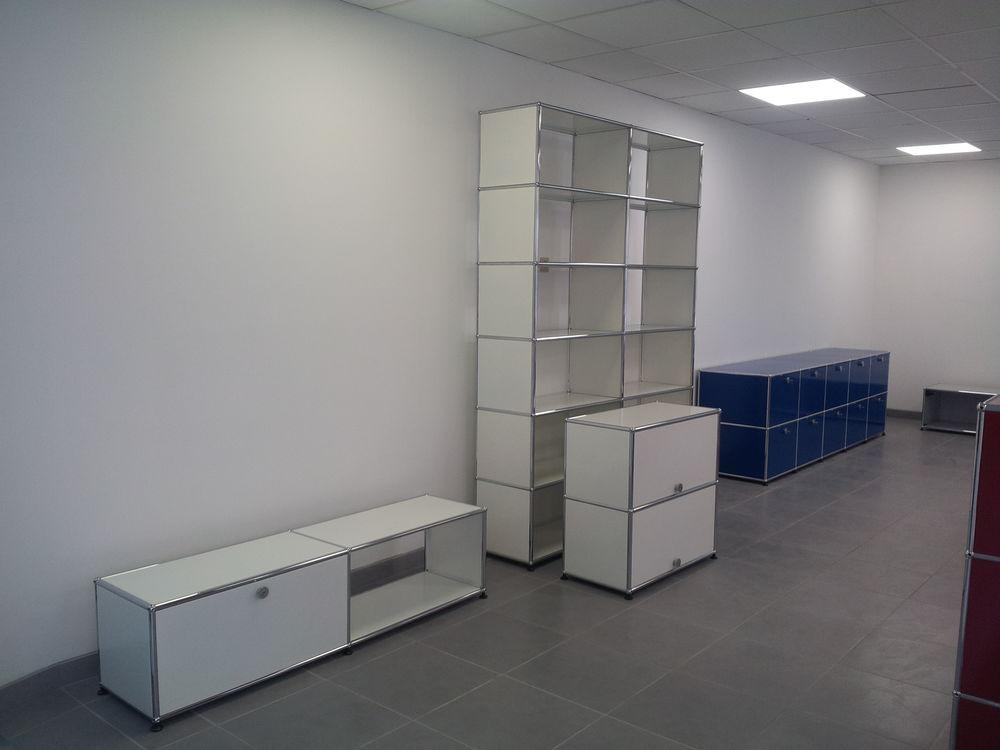 meuble bas tv/hifi usm haller blanc 1 porte abattante 750 Provins (77)