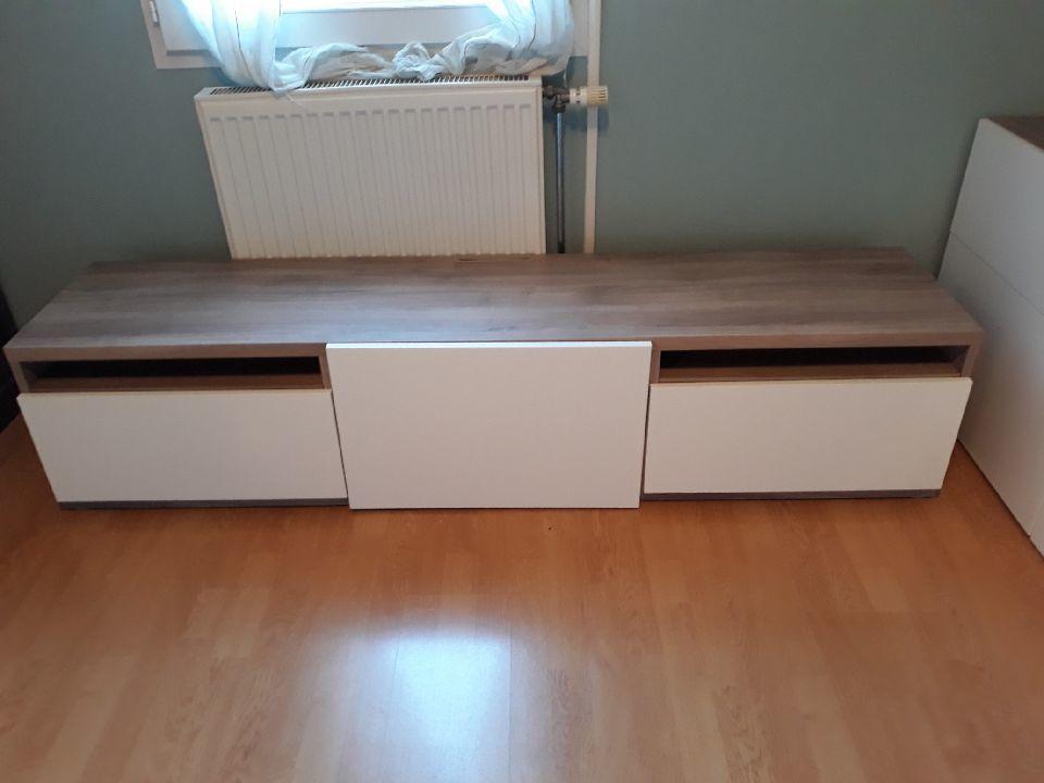 Achetez meuble tv ikéa besta occasion, annonce vente à