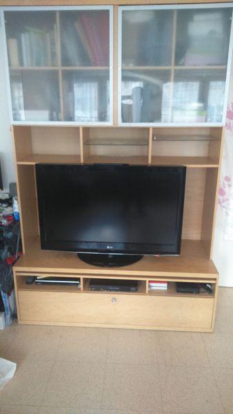 Achetez meuble tv ikea bonde quasi neuf annonce vente paris 75 wb149578996 - Meuble tv en verre ikea ...