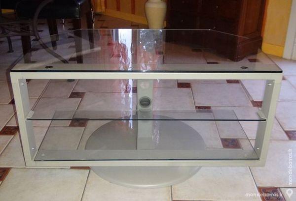 Stunning meuble tv ikea en verre et mueacutetal couleur - Ikea meuble vitrine verre ...