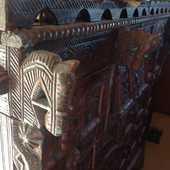 Meuble indien damashia sur 4 roulettes  2500 Fontvieille (13)