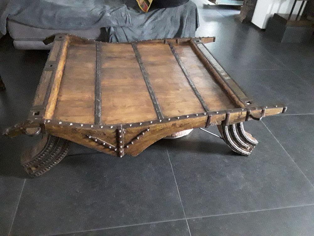 Meuble indien. Grande table basse  charrue 0 Lorgues (83)