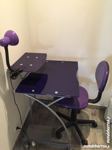 Meuble informatique+ chaise 60 Marseille 6 (13)