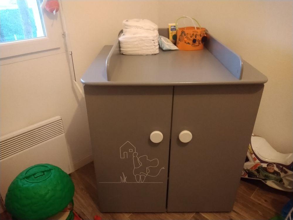 lit + meuble a langer bébé 0 Gujan-Mestras (33)
