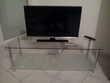 Meuble TV LEEDS Transparent