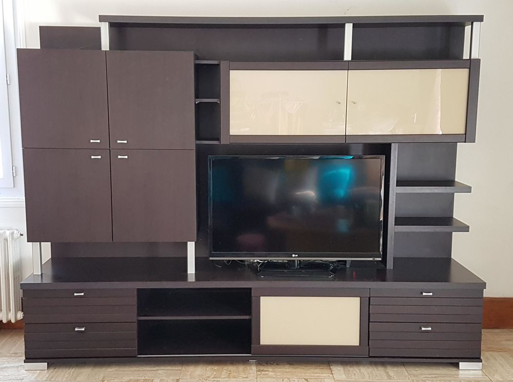 Meuble Living TV ORYS Bois WENGE - A SAISIR 250 Remy (60)
