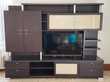 Meuble Living TV ORYS Bois WENGE - A SAISIR