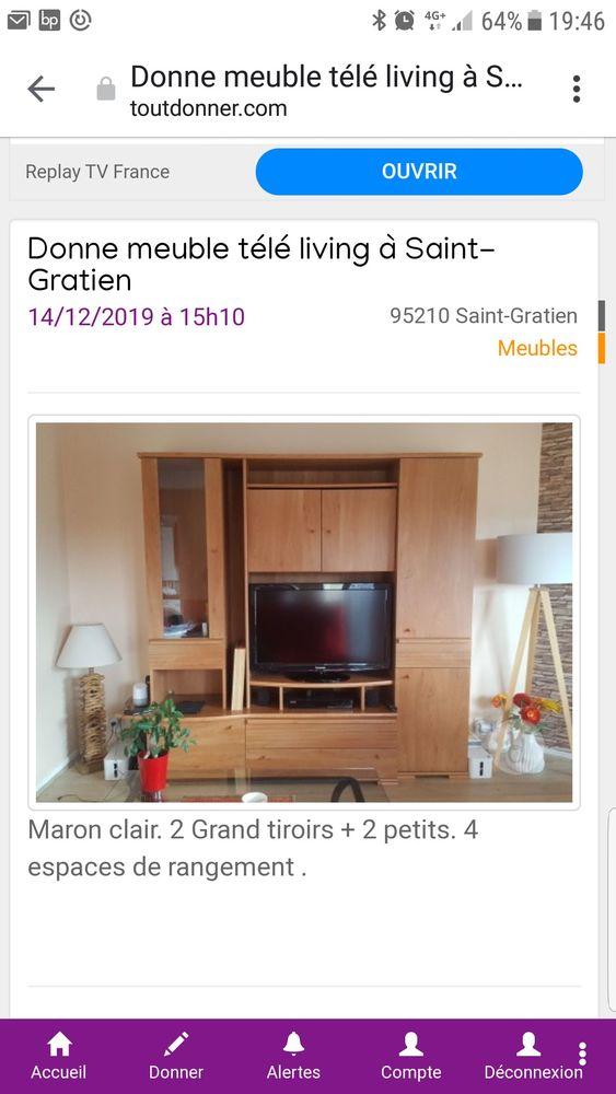 Meuble living 0 Saint-Gratien (95)