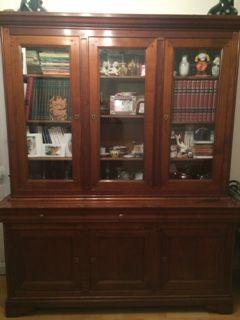 meuble louis philipe avec table et chaînes 1200 Paris 18 (75)