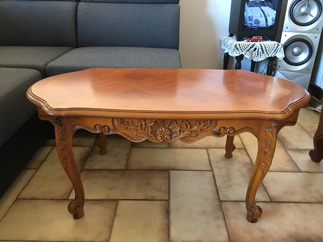 meuble tv merisier + table basse+table salle a manger chéne 0 Lorgues (83)