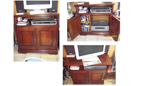 Achetez meuble tv merisier occasion annonce vente douai 59 wb153203203 - Meuble tv merisier occasion ...