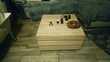 MEUBLE TV et meubles assortis bois clair moderne.  Lombron (72)