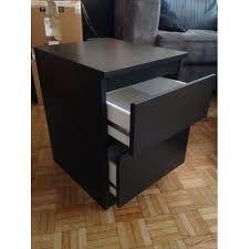 Meuble noir deux tiroirs métal 20 Saint-Martin-le-Vinoux (38)