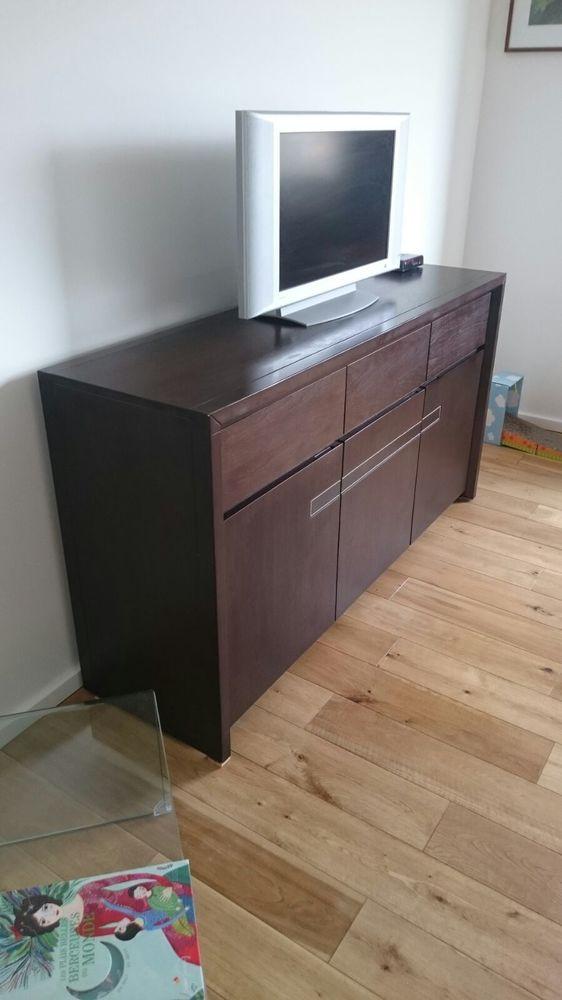 Achetez meuble bas noir a occasion annonce vente ville for Meuble interiors d occasion
