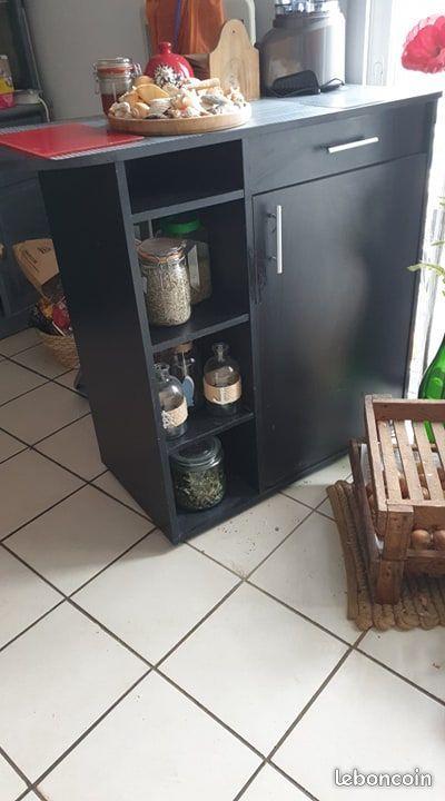 meuble de bar noir 40 Machecoul (44)