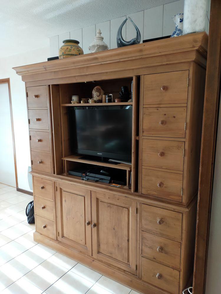 Meuble pin tv/hi-fi et nombreux rangements  150 Chambéry (73)