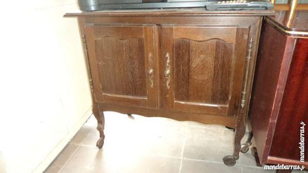 meuble bar 2 portes bois ou table d'appoint roulet 15 Marly-Gomont (02)