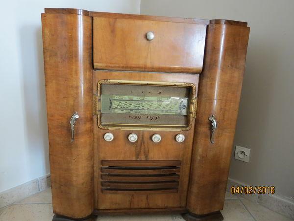 Achetez meuble radio occasion annonce vente mongauzy for Meuble pour tourne disque
