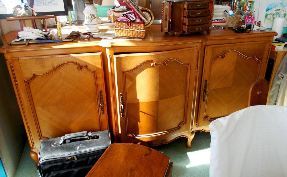 Meuble de rangement en bois merisier buffet 1000 Monflanquin (47)