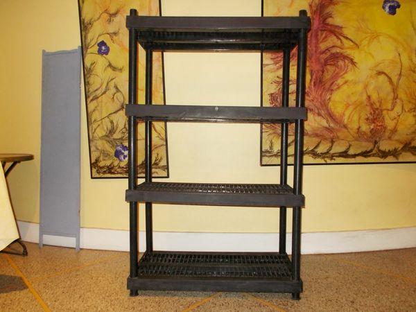 meuble de rangement noir démontable rangeable  45 Monflanquin (47)