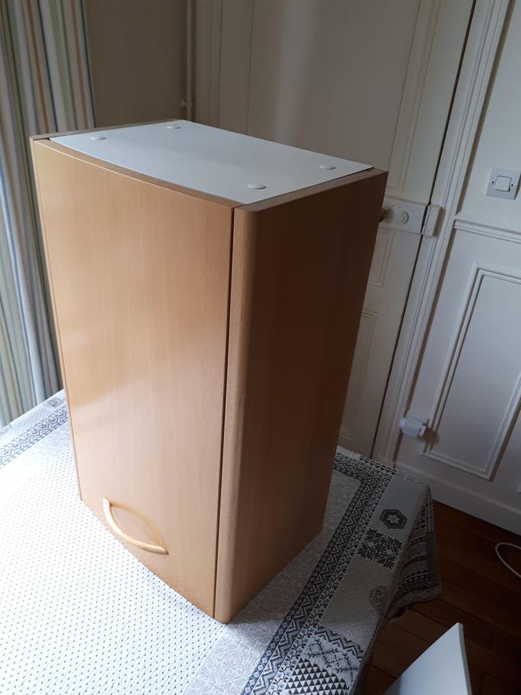 Meuble rangement salle de bain en bois massif 100 Paris 13 (75)