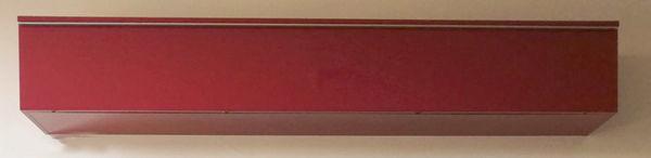 Meuble Rouge laqué range cd Besta Burs Ikea 60 Palaiseau (91)