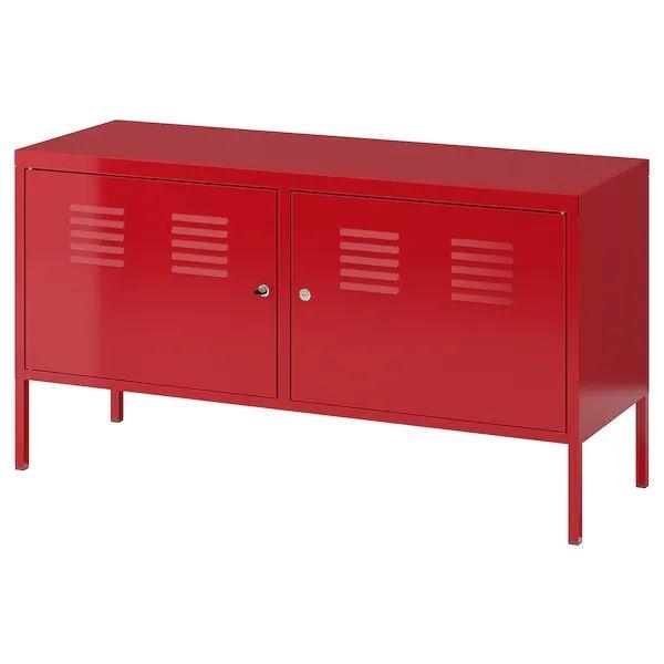 Meuble rouge métal ikea 50 Lyon 1 (69)