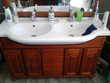 Meuble salle de bain teck Anhiers (59)