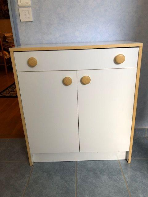 meuble salle de bain 1 tiroir 1 étagère 2 portes   30 Redon (35)