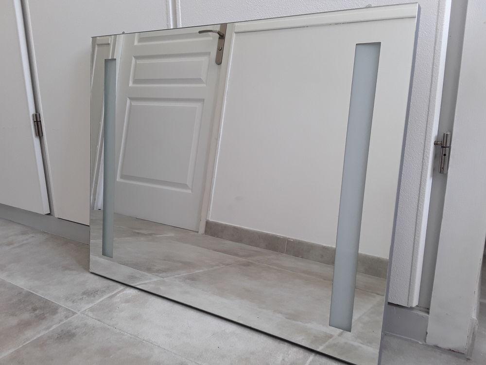 Meuble de salle de bain et double vasque + miroir 150 Yvré-l'Évêque (72)