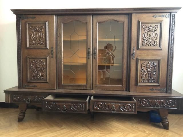 meuble de salle à manger en chêne rustique  100 Tourcoing (59)