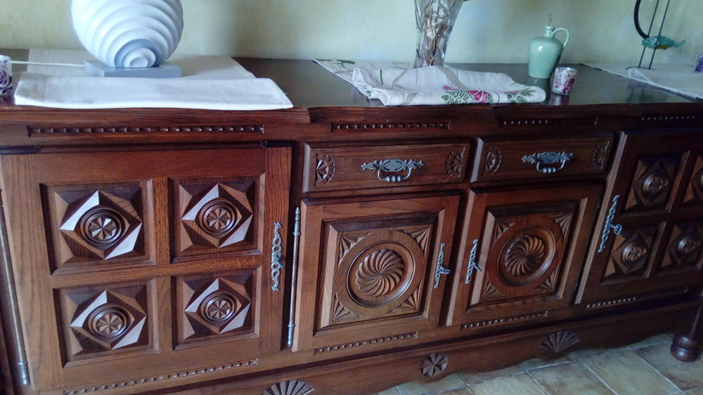 meuble de salon en chêne massif , bon état ,   50 Moulon (33)