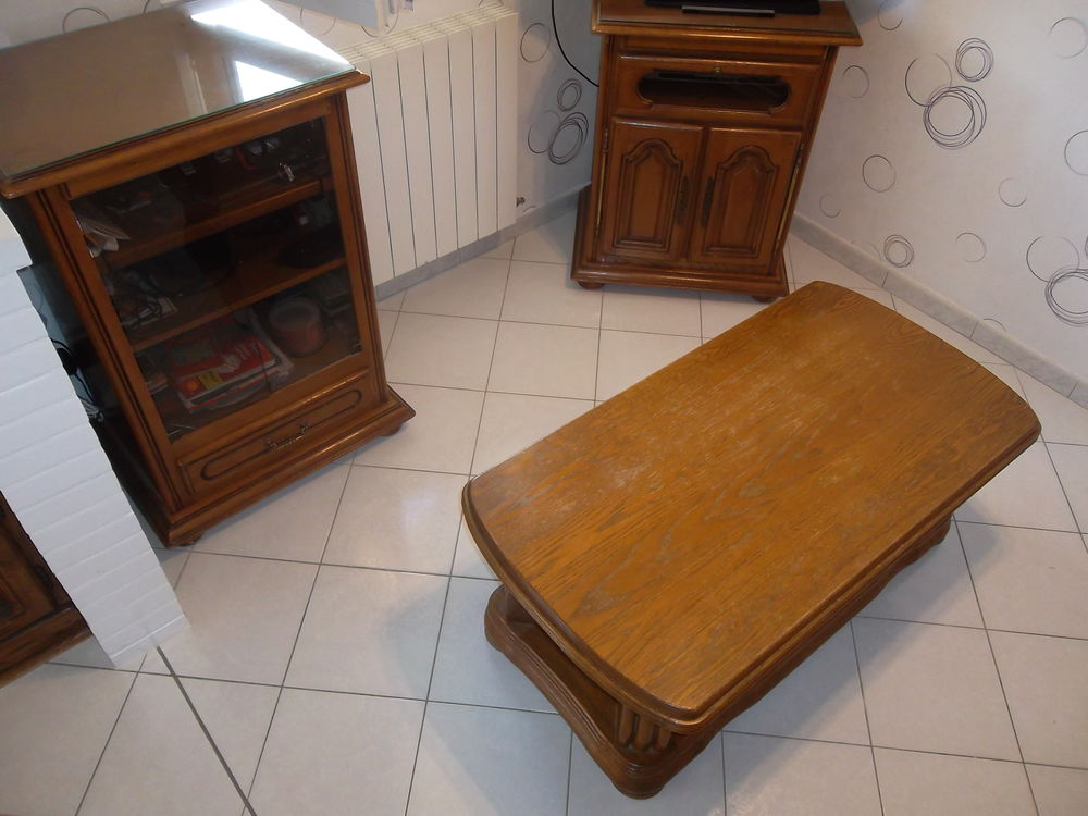 Meuble de Salon Télé, Hifi et Table en Bon État 150 Pont-à-Mousson (54)
