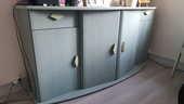 Meuble de salon vert 2 tiroirs 4 portes 100 Thionville (57)